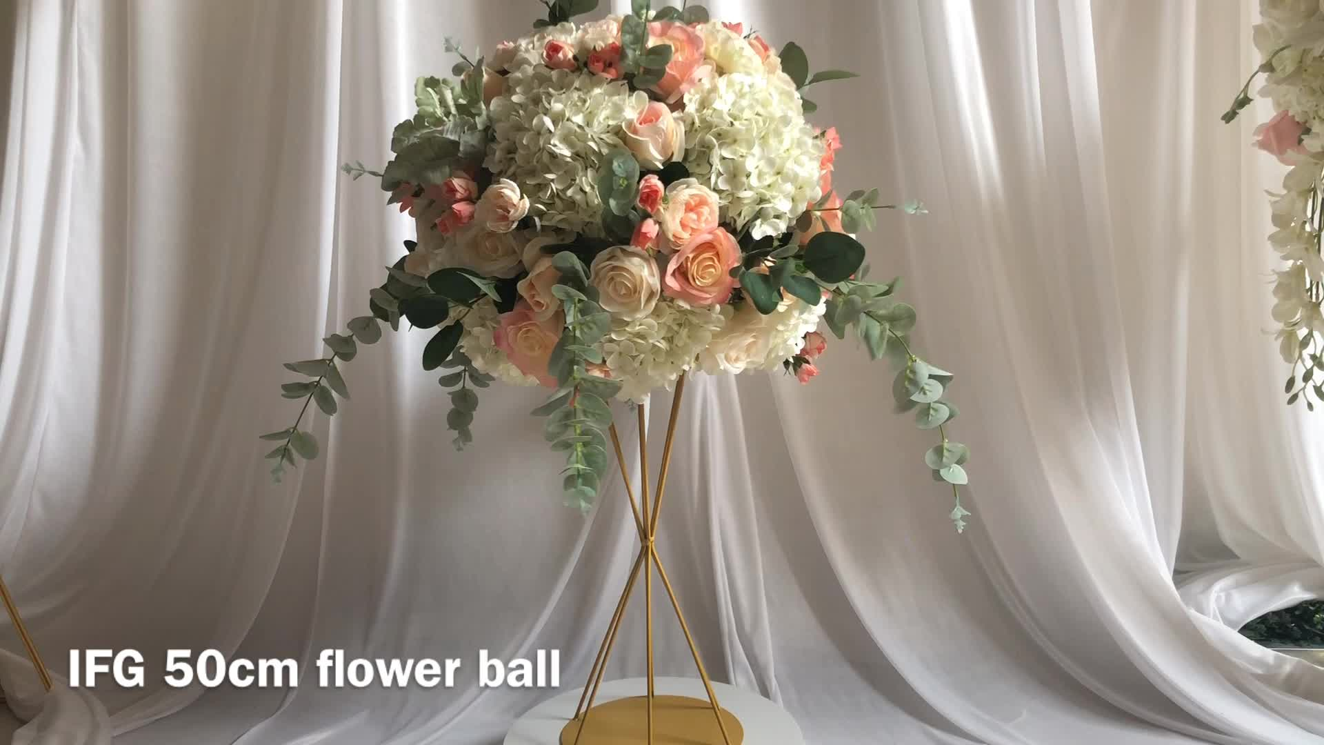 Ifg Artificial Table Flower Ball Wedding Centerpieces - Buy Flower ...