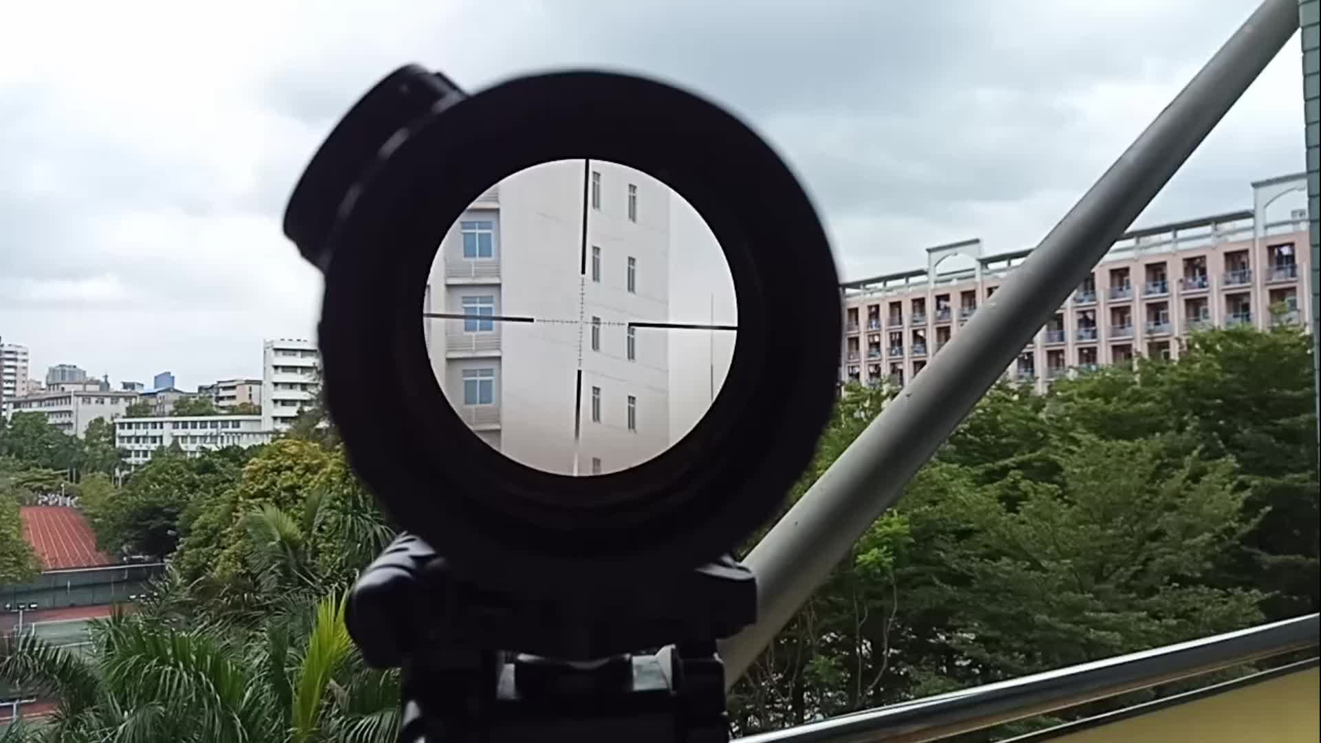 शूटिंग 4-16X44 ऑप्टिकल दृष्टि पक्ष लंबन समायोजन हवा riflescopes गन हथियार शिकार राइफल गुंजाइश