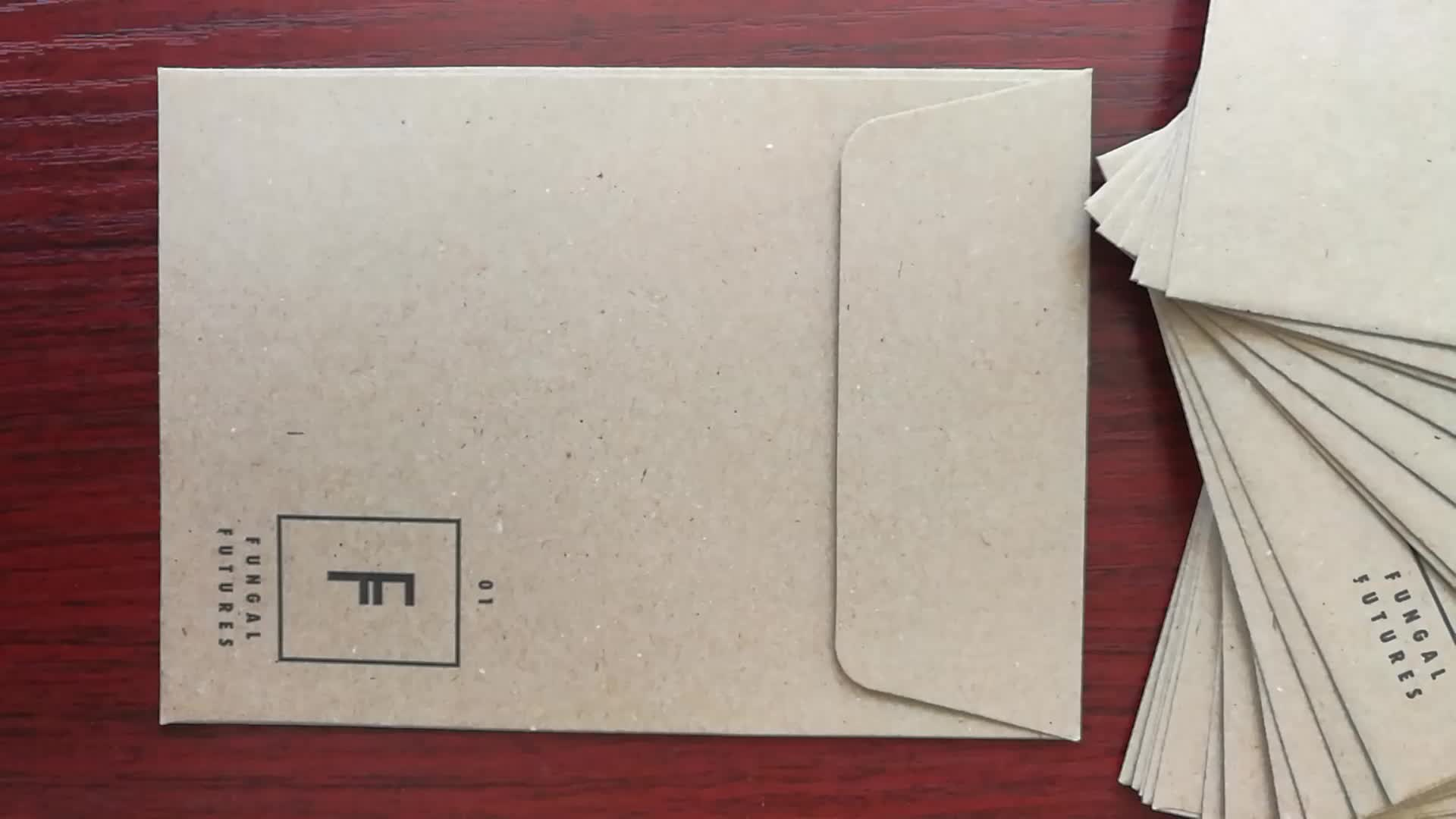 2018 Custom Design di Stampa del punto-di colore Busta di carta