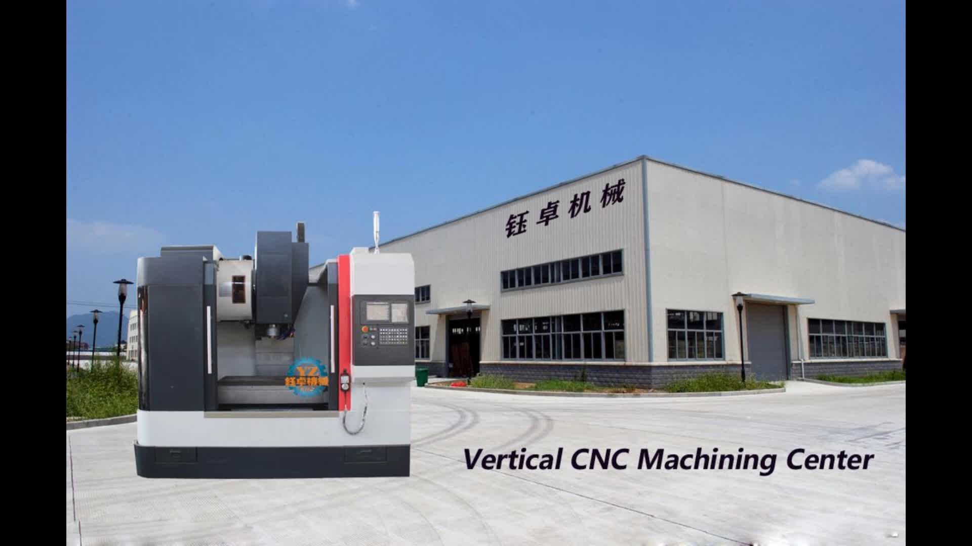 VMC850 मिनी सीएनसी मिलिंग मशीन और सीएनसी मशीनिंग केंद्र