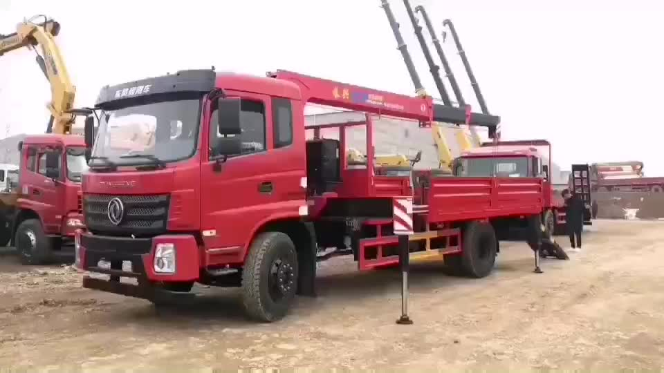 High quality 6x4 truck mounted crane 14/16/20 Ton truck with crane crane truck for sale