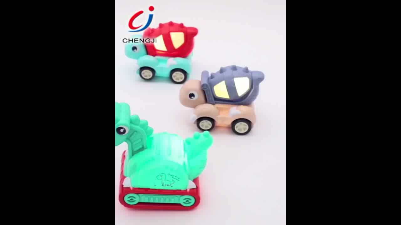 Battery operated educational mini light musical cheap electric dinosaur car toy