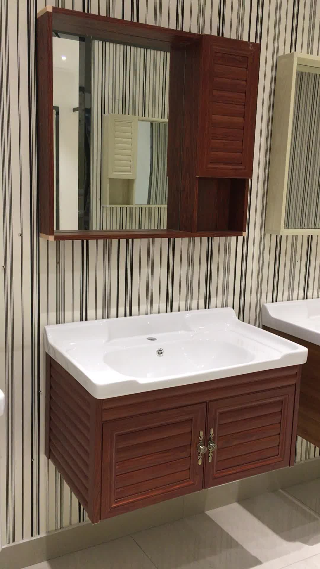 Bathroom cabinets cheapest price aluminium wall mounted - Unique bathroom vanities for small spaces ...