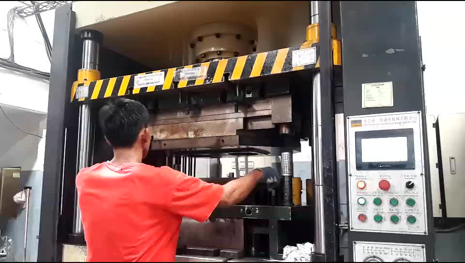 Sliding Straight Side Double Action Hydraulic Deep Drawing Press Machine
