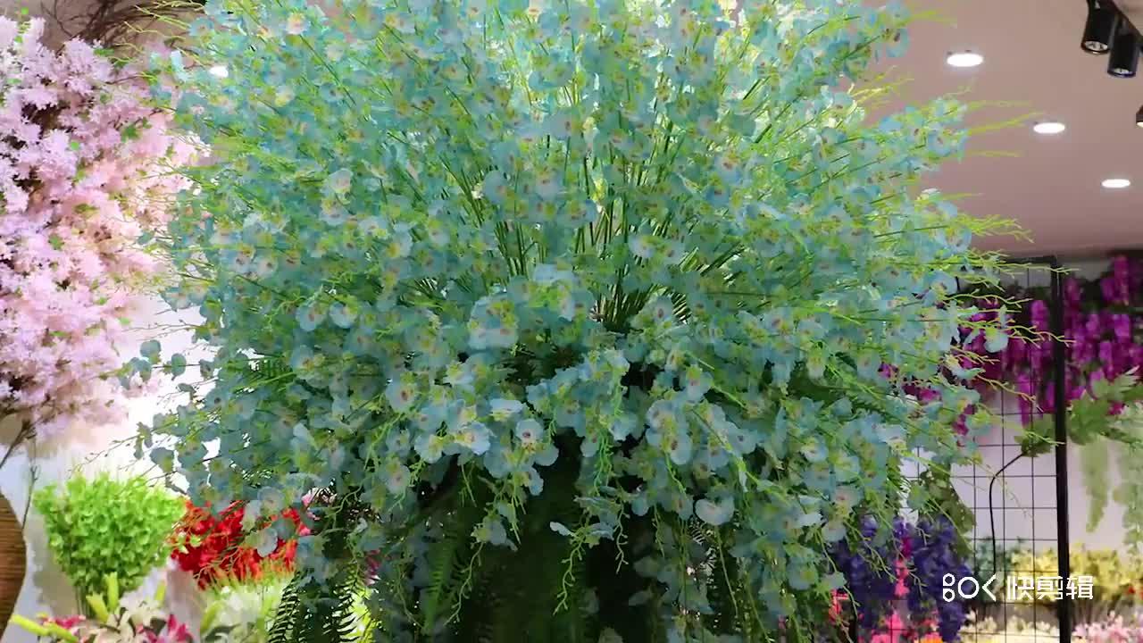 Bella A Buon Mercato Fiori Decorativi Artificiali Fiori di Seta Sakura 100 CENTIMETRI Bianco fiori di Ciliegio per la Decorazione e Albero di Archi