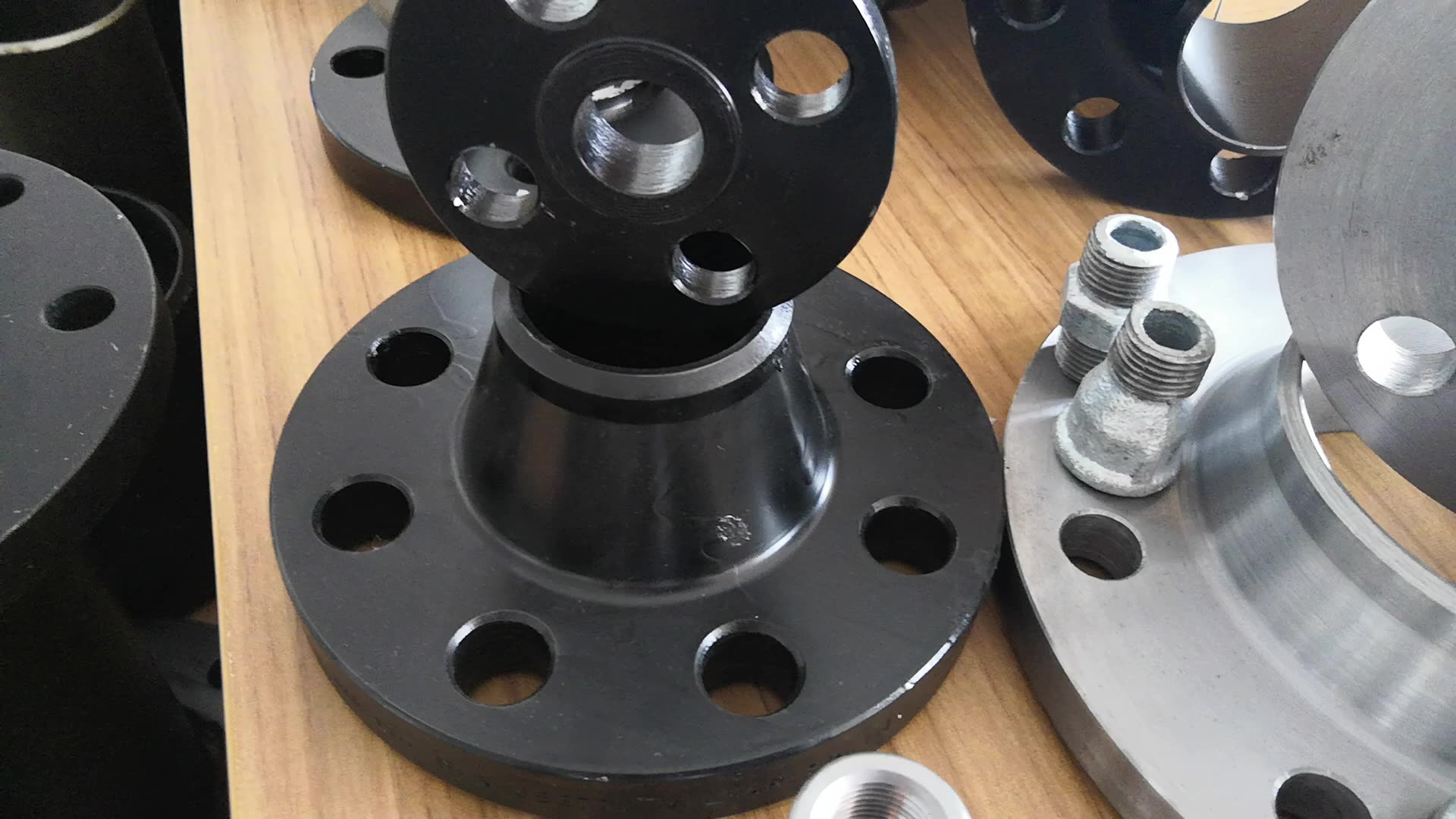 ANSI DIN GOST Forged Class150 Stainless Steel Slip on Flange