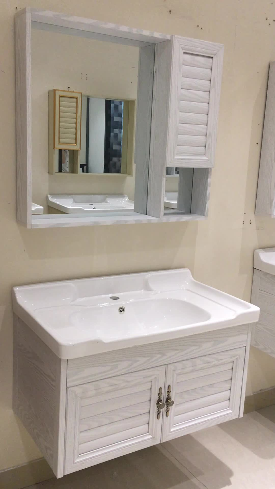 Used Bathroom Vanity Cabinets White Mdf Bathroom Cabinet: Used Aluminum Bath Bathroom Vanities Cabinets For Sale