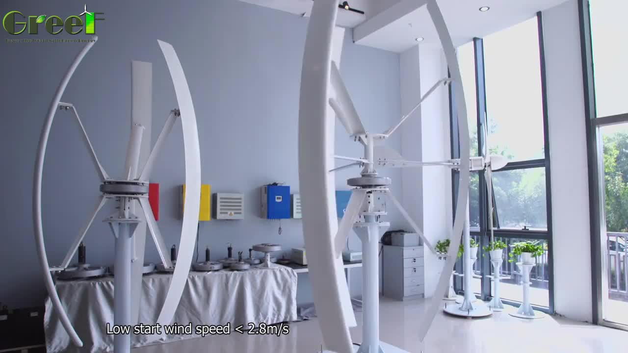 Vertical wind generator 500w to 5kW ,vertical wind turbine for home use