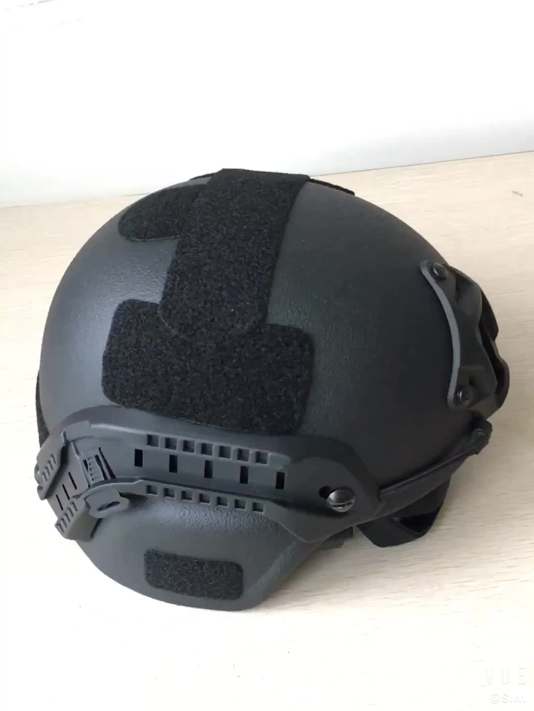 NIJ IIIA Ballistic Aramid Helmets Bullet Proof Helmet Military Equipment Bulletproof Helmet