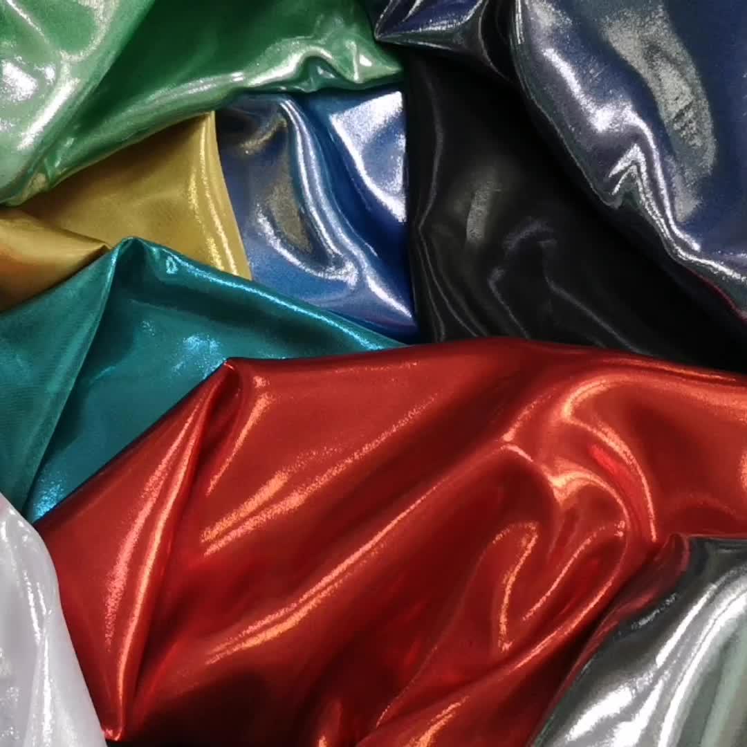 Parlak metalik folyo baskılı saten kumaş tüm altın folyo baskı saten bronzlaşmaya baskılı saten kumaş