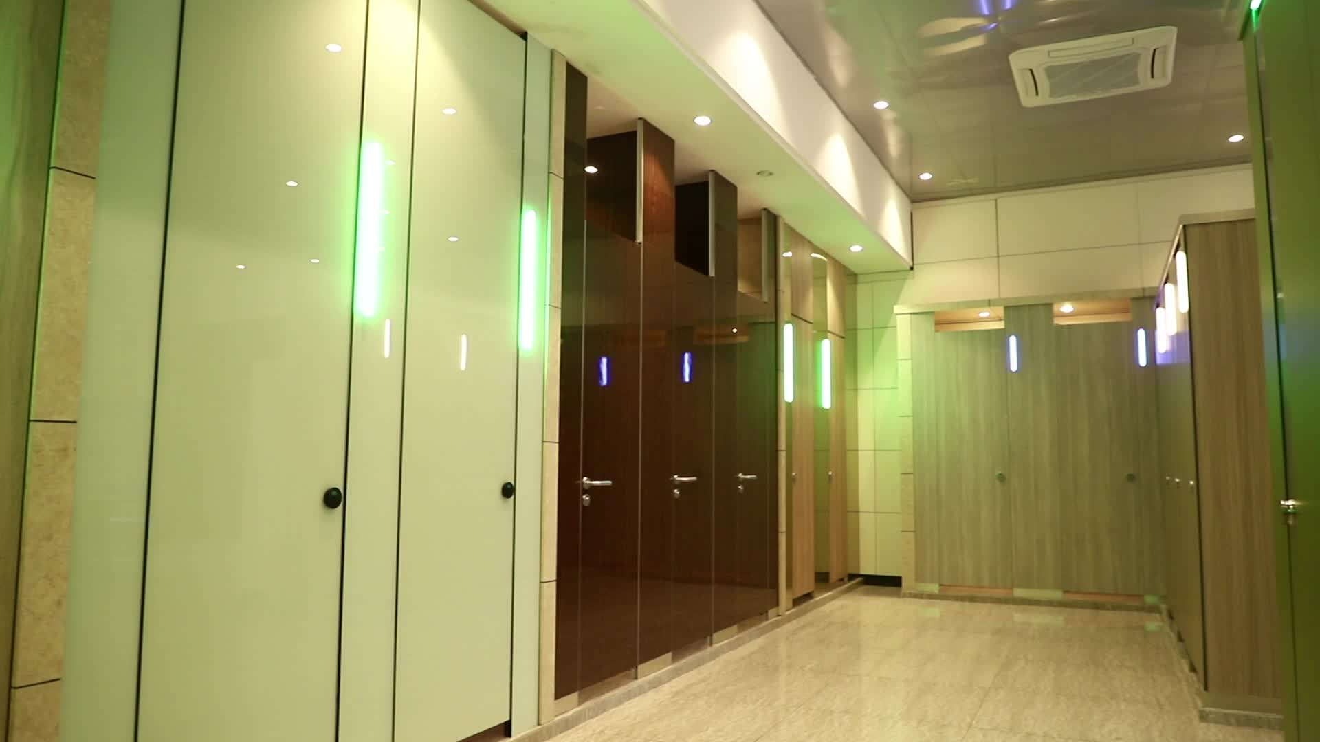 AOGAO Fitting Room Partition SS 304 Accessories Toilet Cubicle Waterproof Compact Board