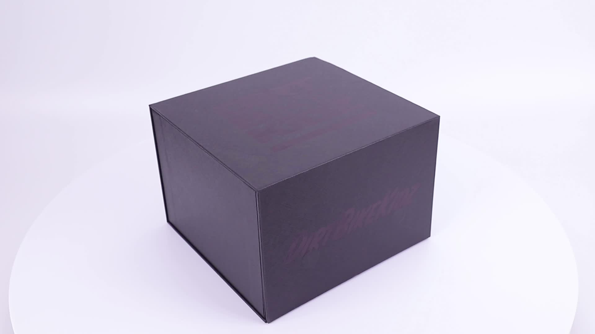 Atacado Costume Impresso Embalagem Fecho Magnético Livro Em Forma De Caixas De Armazenamento Decorativo Oco