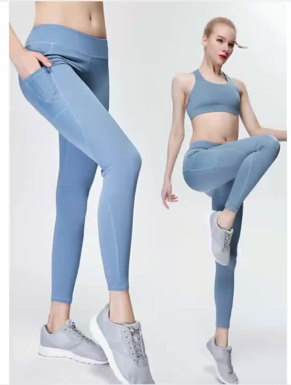 Shanghai  hot sexy girls tight sublimation tummy control high waist women seamless fitness set legging gym sport yoga pants