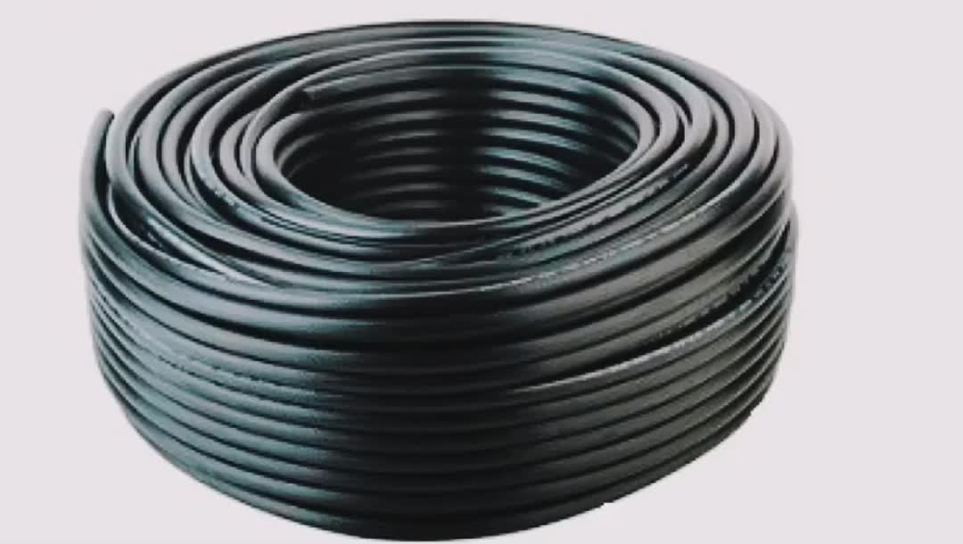 Black Color Gas High Pressure Rubber Hose