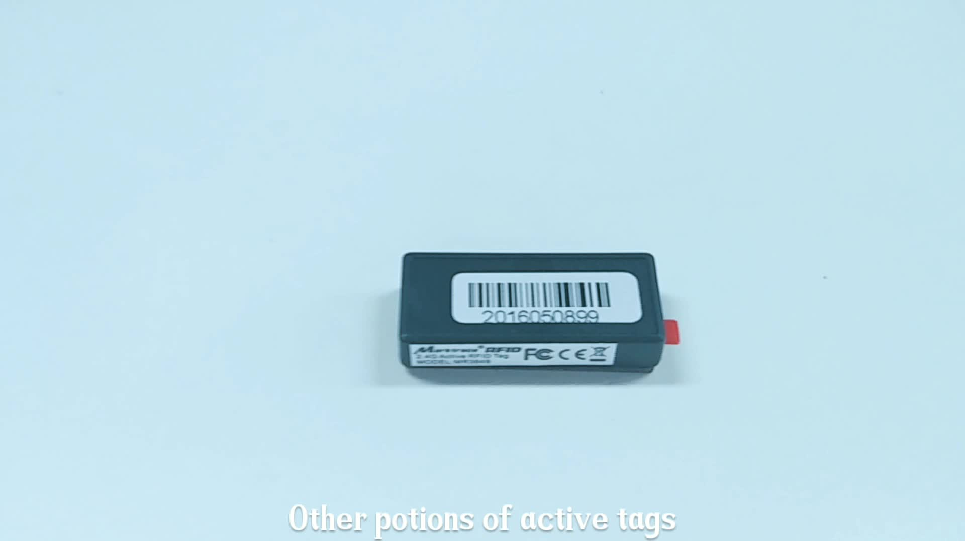 Active 2.4G RFID Tag for Fixed Assets Management
