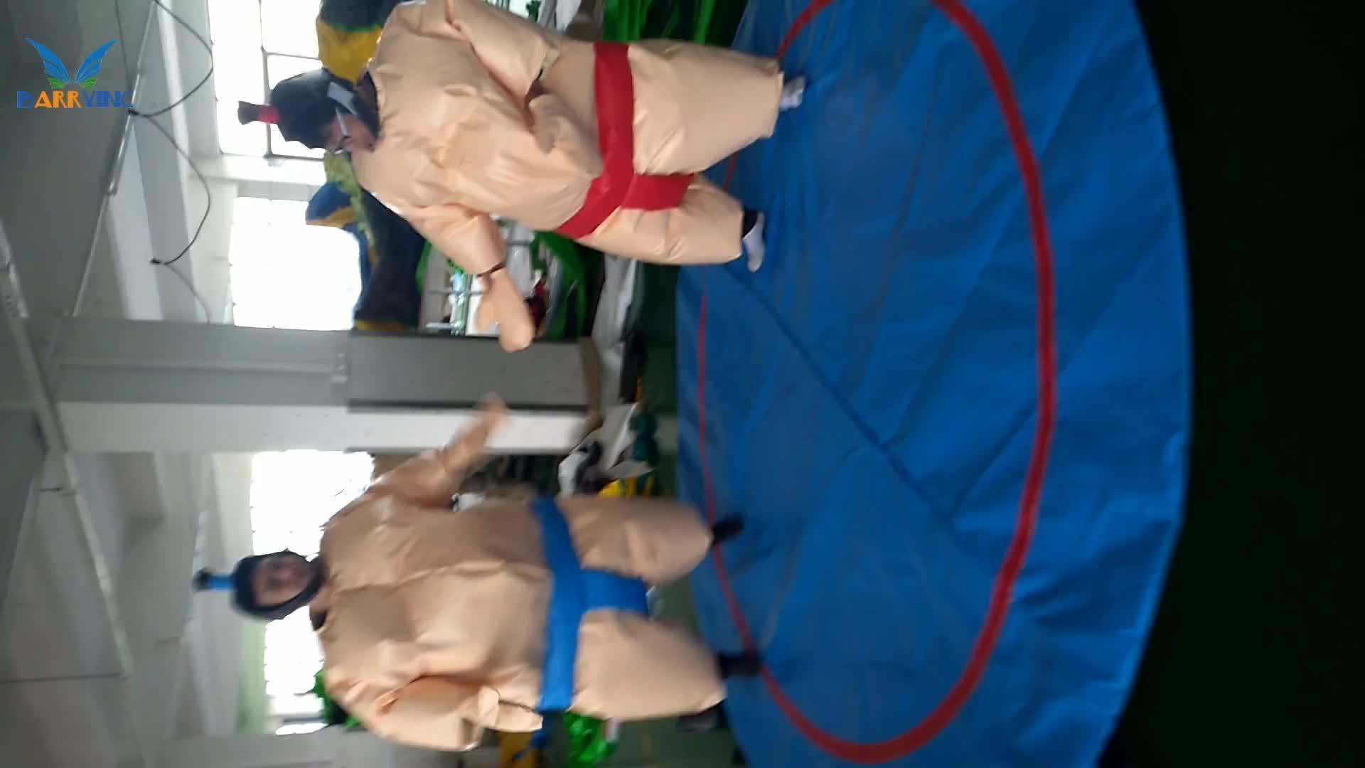 Guangzhou Şişme sumo güreş takım elbise