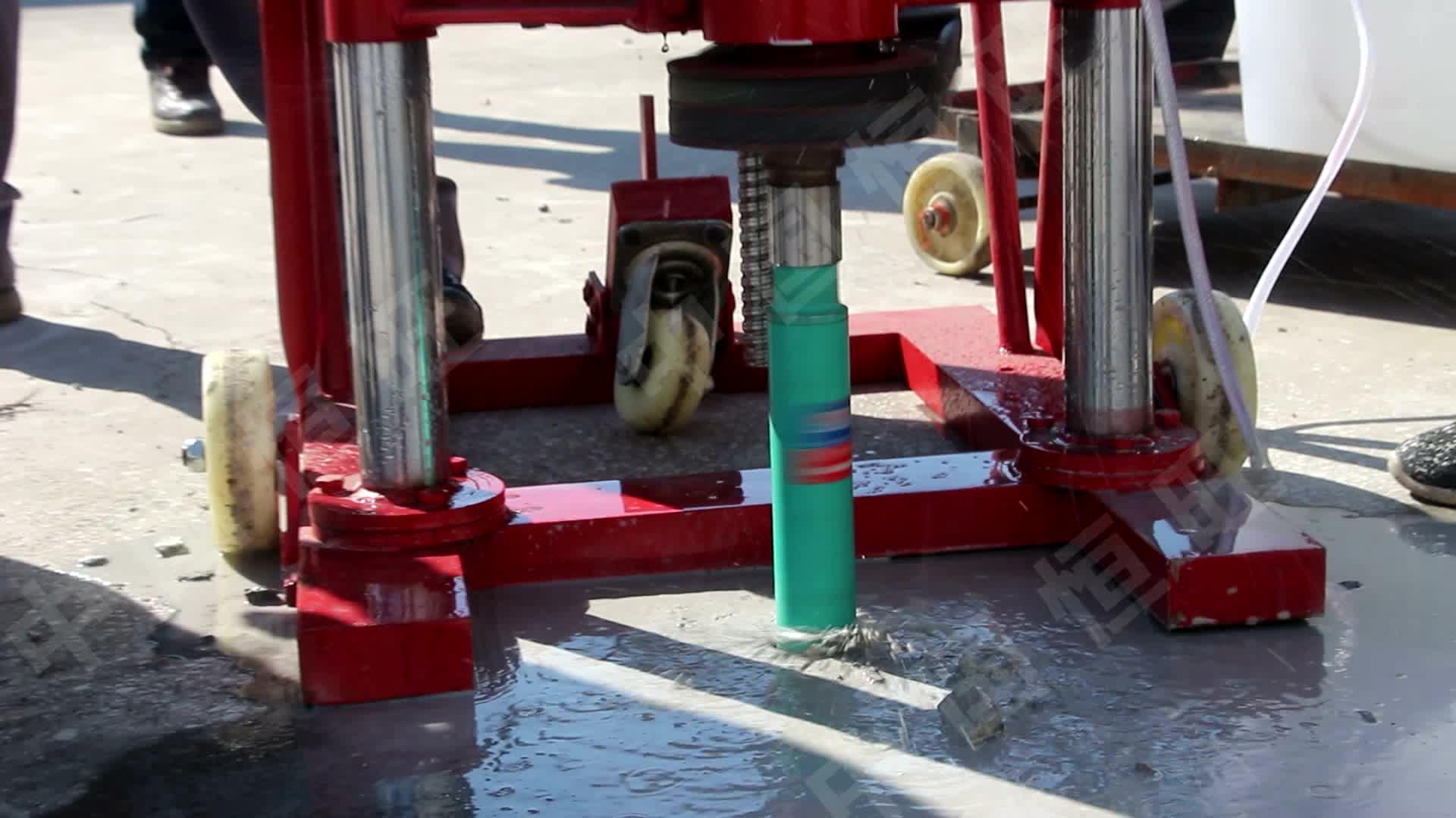 Electric Power Diamond Coring Cutting Drill Concrete Core Drilling Machine