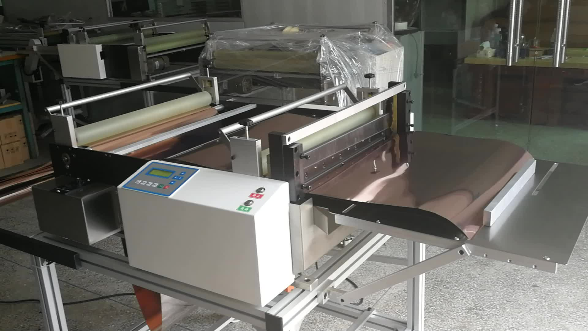 Quality full automatic copper foil cutting machine wholesale from china automation equipment