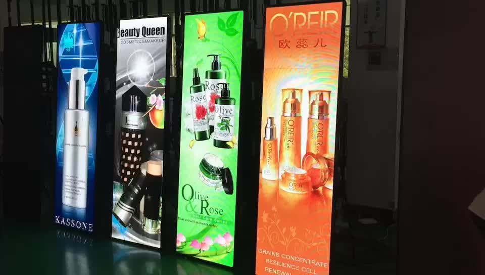 P1.953 HD Floor Standing Retail Led Display Poster Screen for Store Advertising