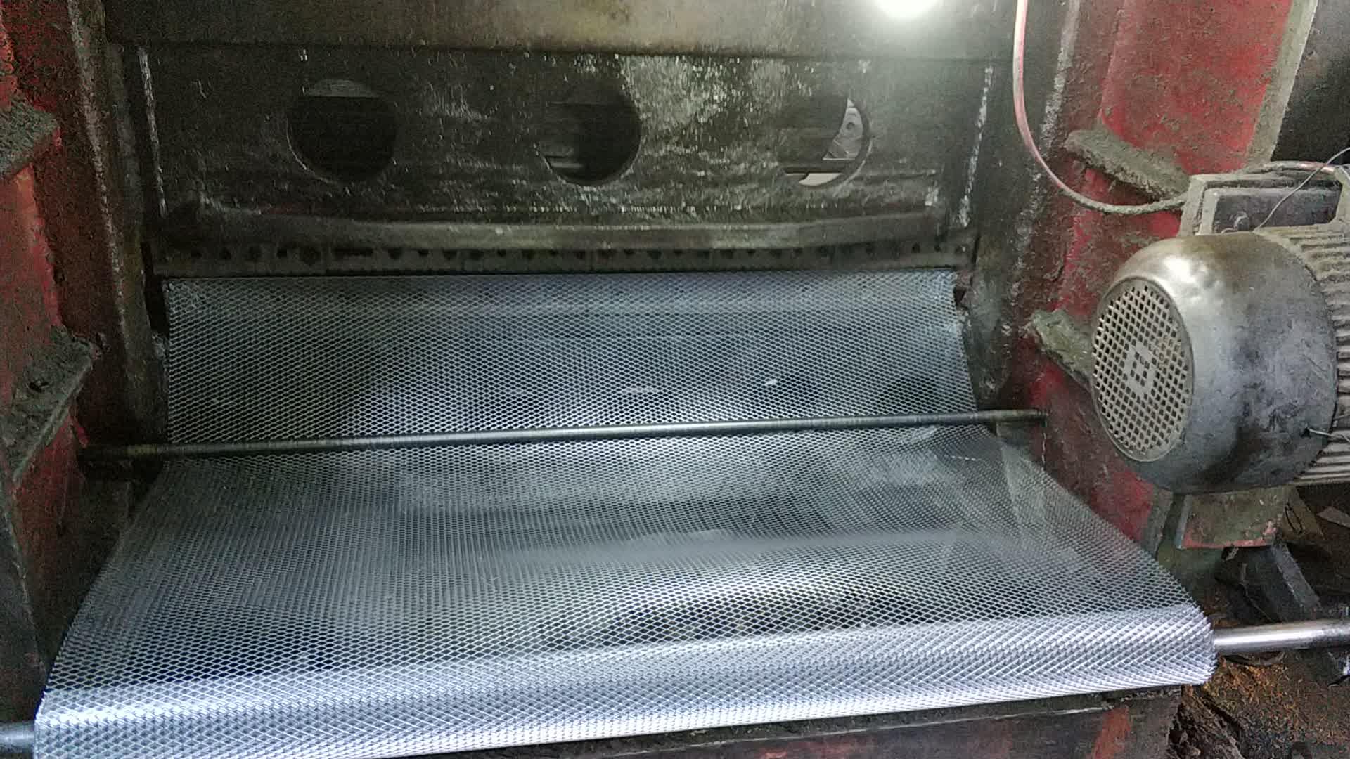 Lamiera stirata di alluminio saldati maglia di filo expanded rete metallica per la vendita