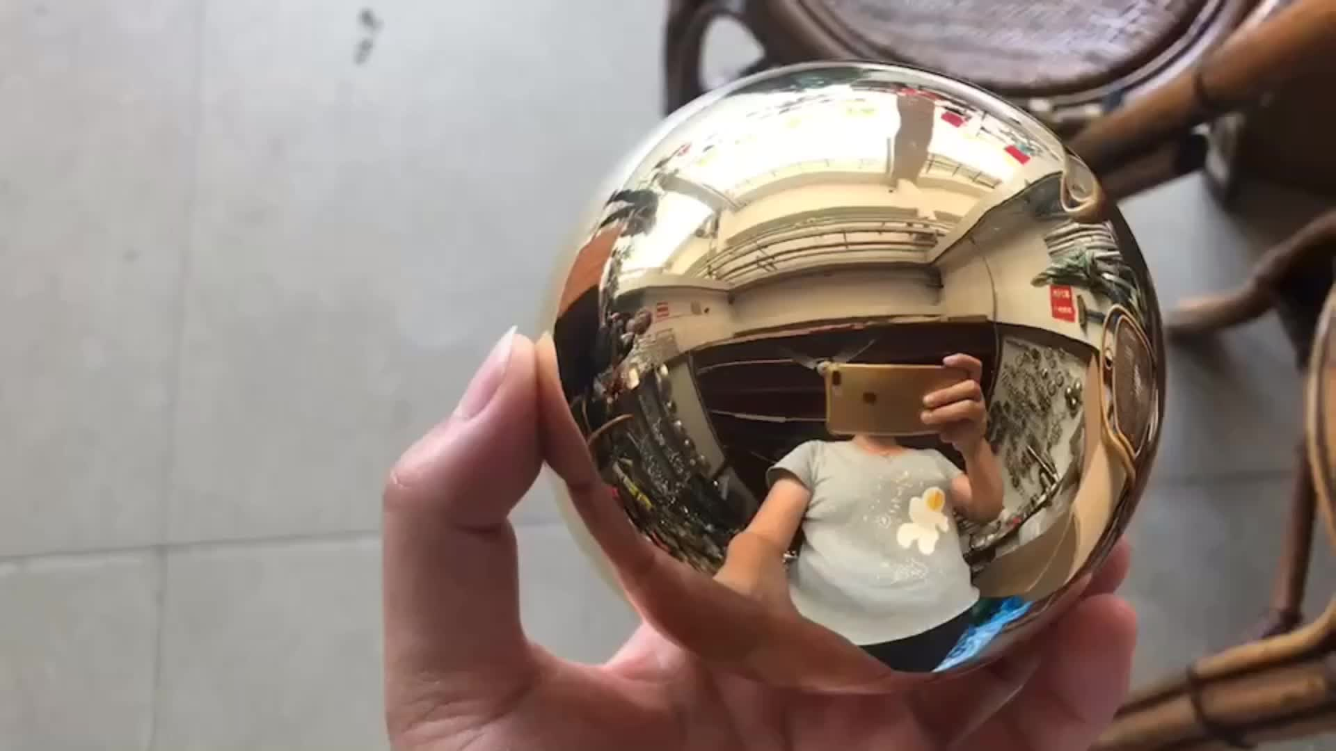 80MM Copper hollow ball sphere ,brass hollow ball for decoration