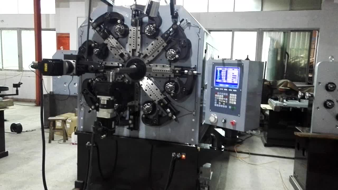6 Axis 7 mm Wire Forming Machine Agriculture Hay Rake Teeth Making Machine