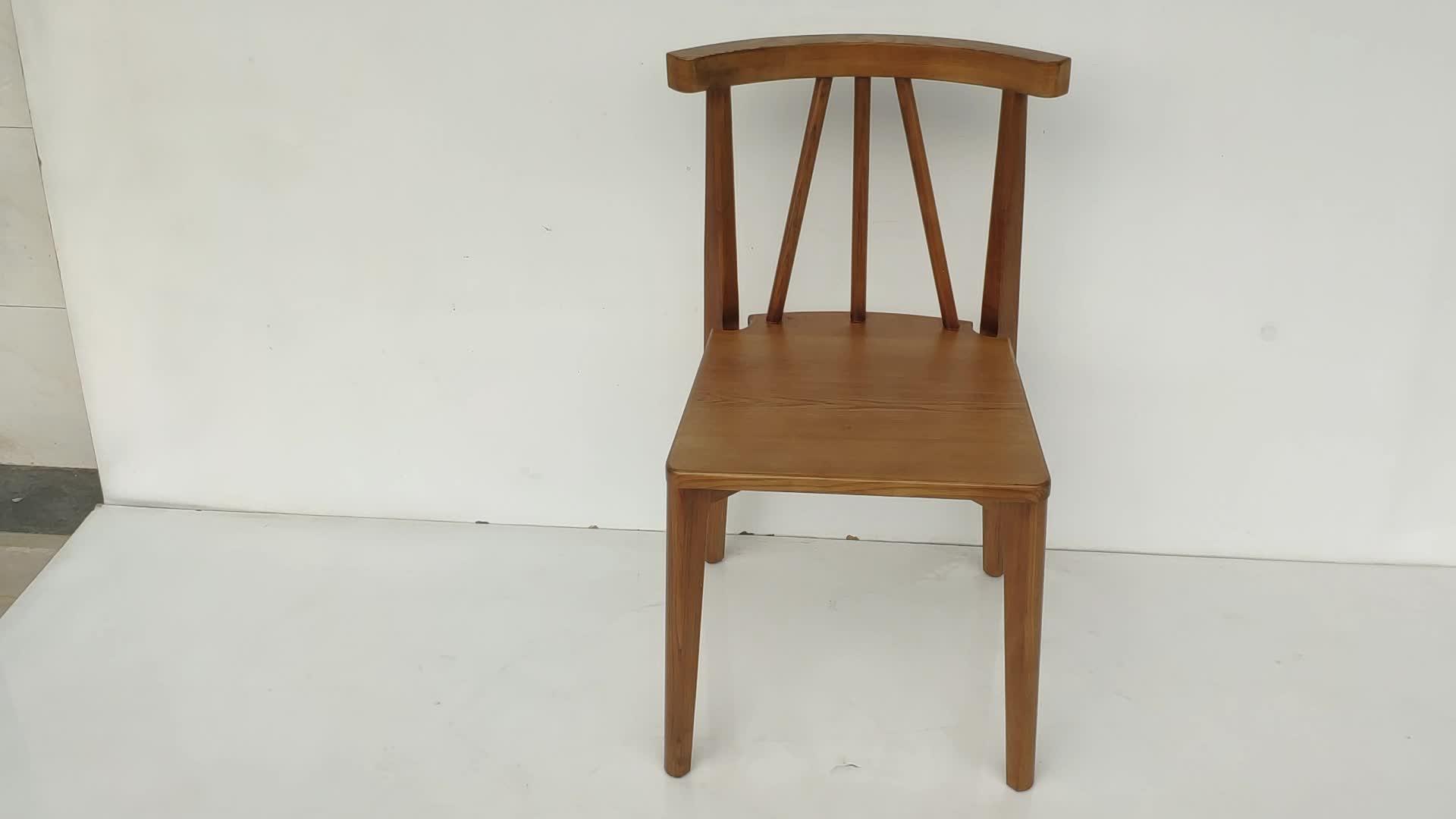 Vietnam fábrica personalizar muebles para el hogar moderno comedor silla de madera
