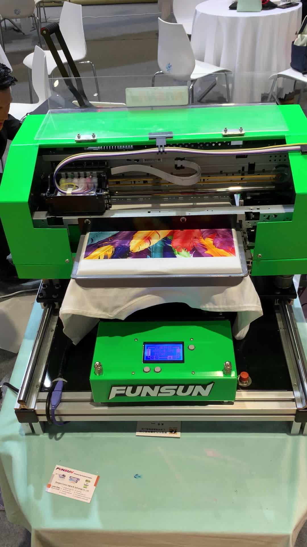 DTG uv printer for t shirt digital t-shirt printing machine