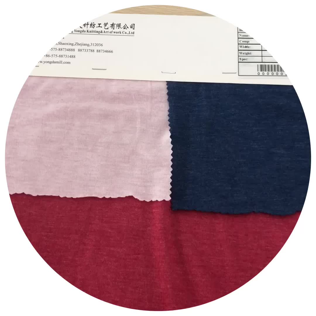 New arrival moisture absorption plain polyester price per meter examples of rayon fabric