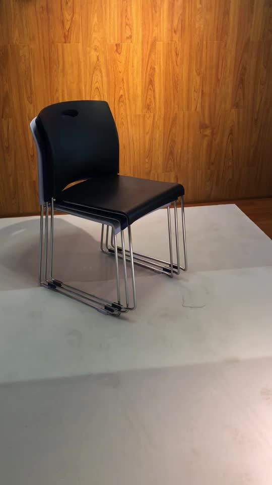 Besprechungsstuhl Konferenzstuhl mit niedriger Rückenlehne