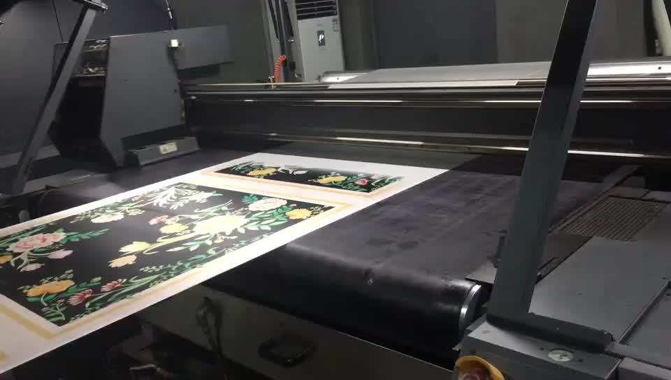 사용자 정의 디지털 인쇄 실크 새틴 여성 스카프