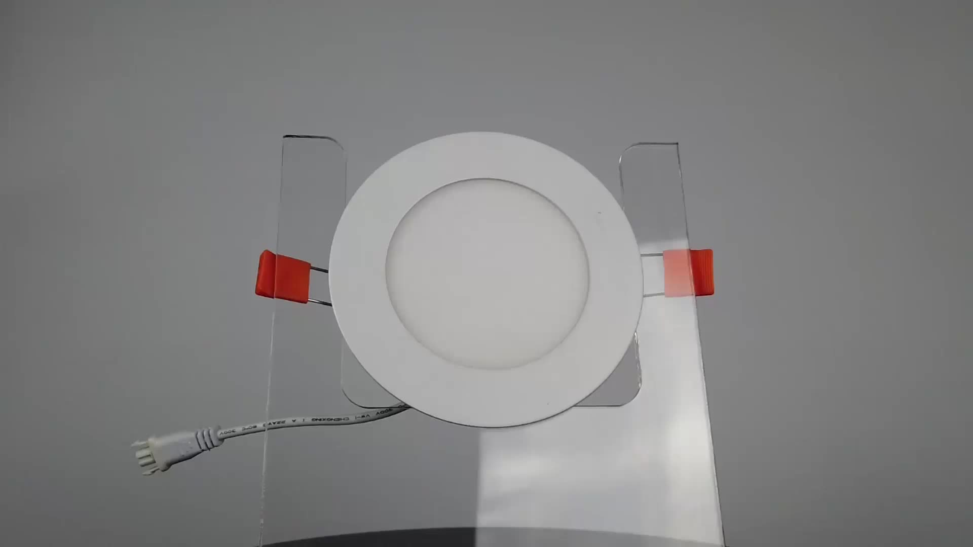 Langde zhongshan manufacture 2835smd chip 3w to 24w flat LED panel led lighting for hotel hospital