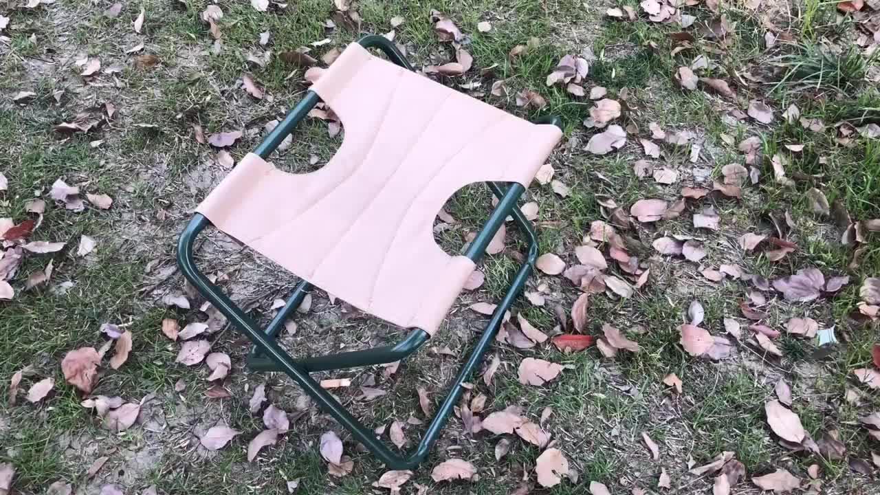 กลางแจ้งสตูลพร้อมกระเป๋าเครื่องมือมัลติฟังก์ชั่แบบพกพาพับตกปลาสวนเครื่องมือเก้าอี้