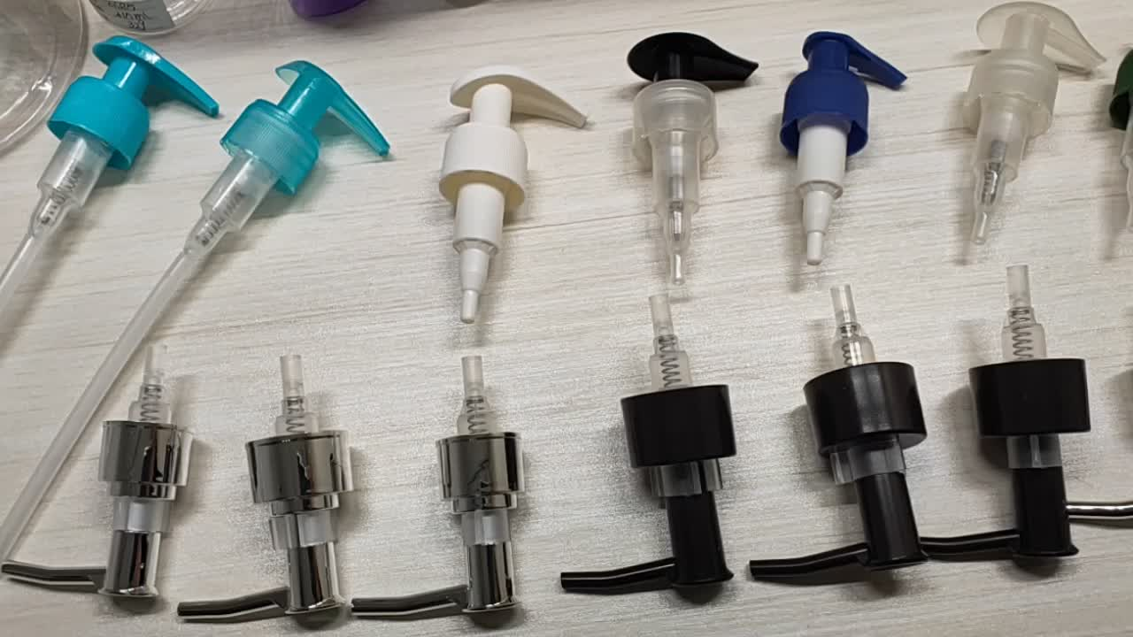 China BYU Competitive price Good quality screw lock pump practical lotion pump