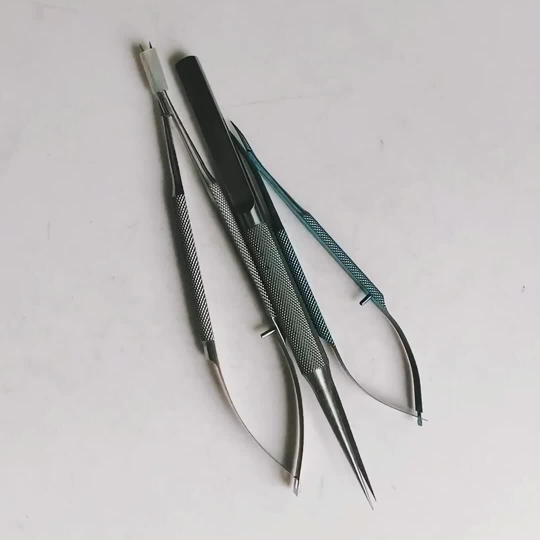 Di alta Qualità 16 centimetri In Acciaio Inox Medico Chirurgico di Funzionamento Del Tessuto Forbici pinze testa dritta/angolo di testa.