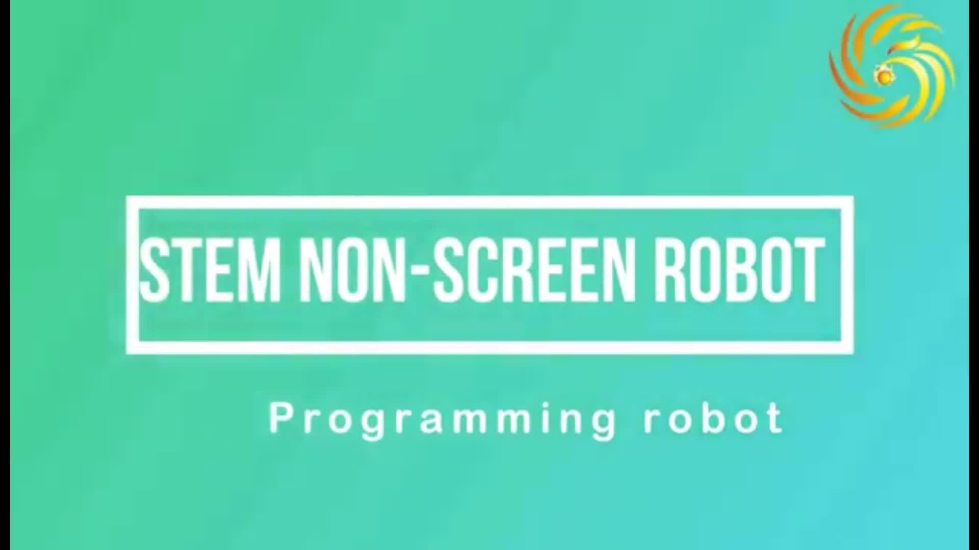 Sans écran électrique mobile de commande éducatifs enfants programmation codage intelligent robots jouets pour 3 + ans