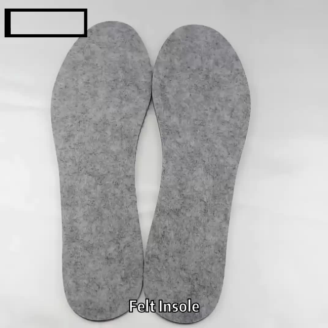 Cheap Creative Style Felted Wool Slippers