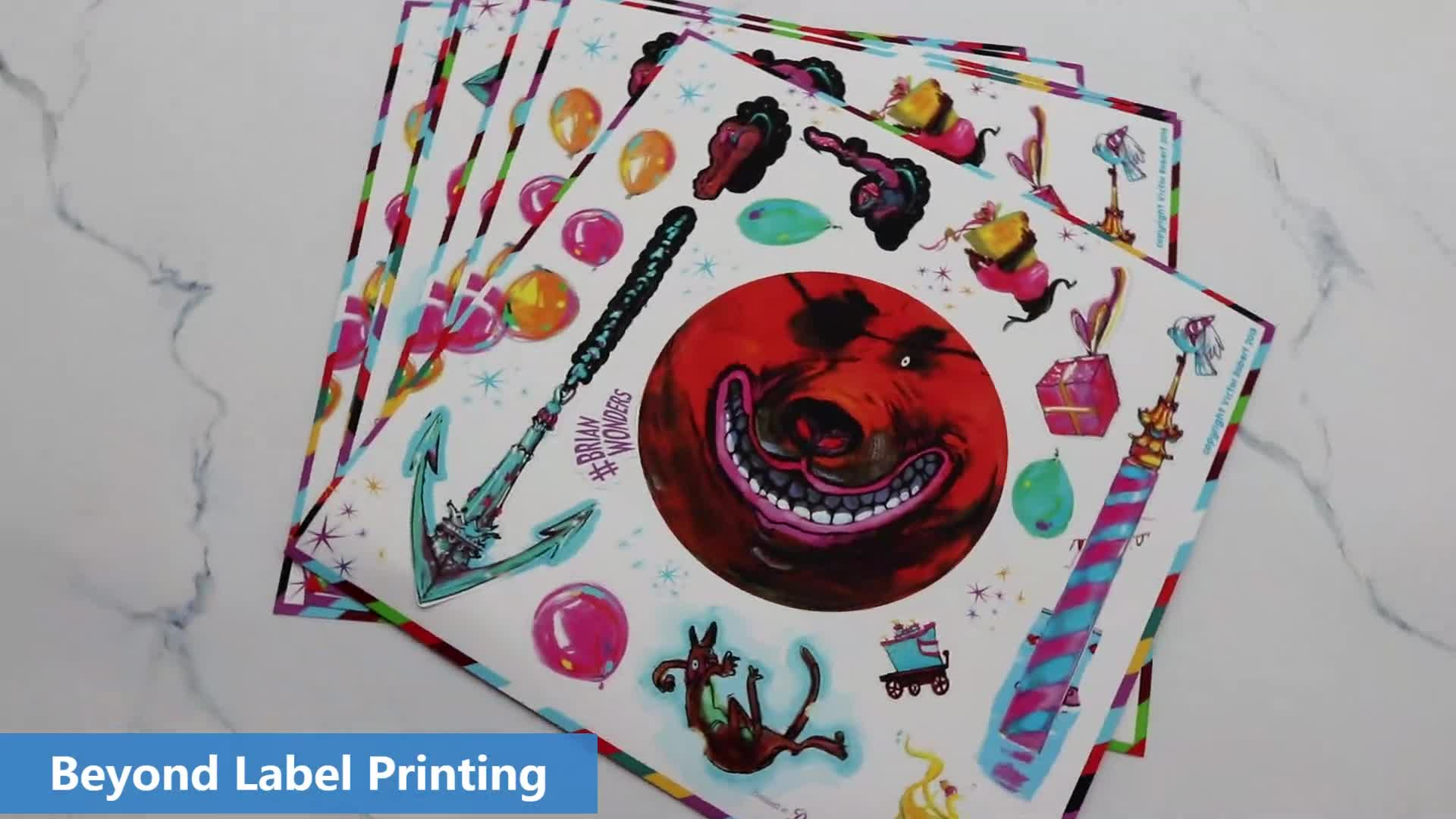 China Suppliers Product Digital Art Stickers