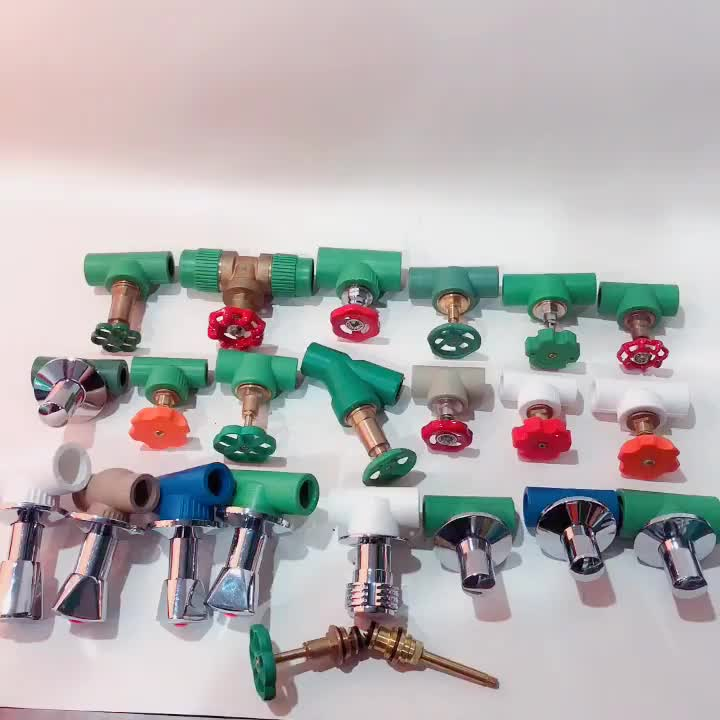 Ifan factory ppr pipe fitting American stop valve