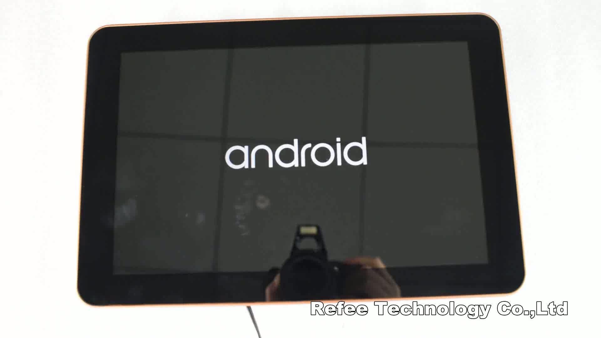 Android wifi lcd monitör reklam 9 taksi video reklam oyuncu lcd araba monitör
