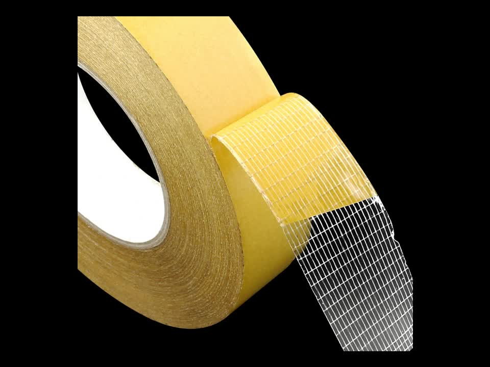 fiber grid tie inverter adhesive tape waterproof mesh double sided tape