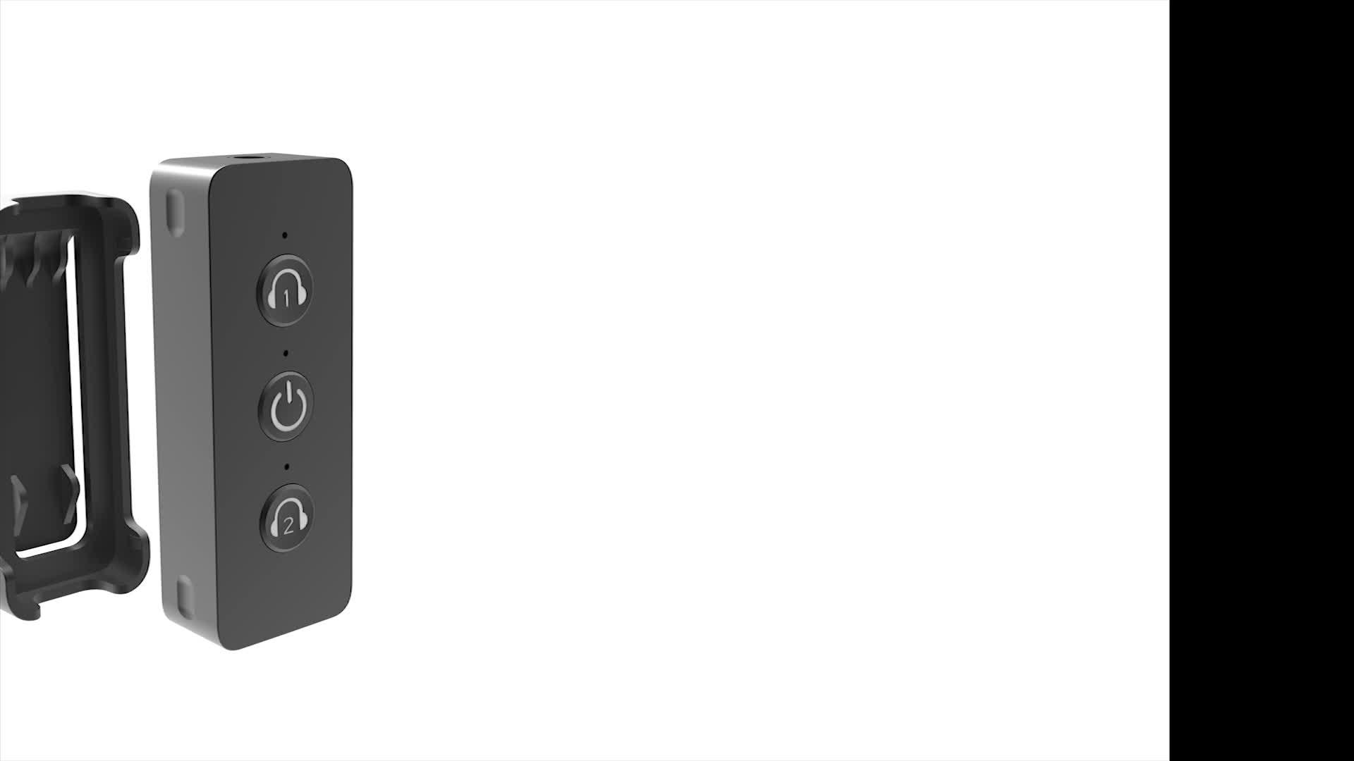 Port de Type C CSR8670 Sans Fil Émetteur Bluetooth Adaptateur Audio pour TV AirPod Voyager avec APTX Low Latency