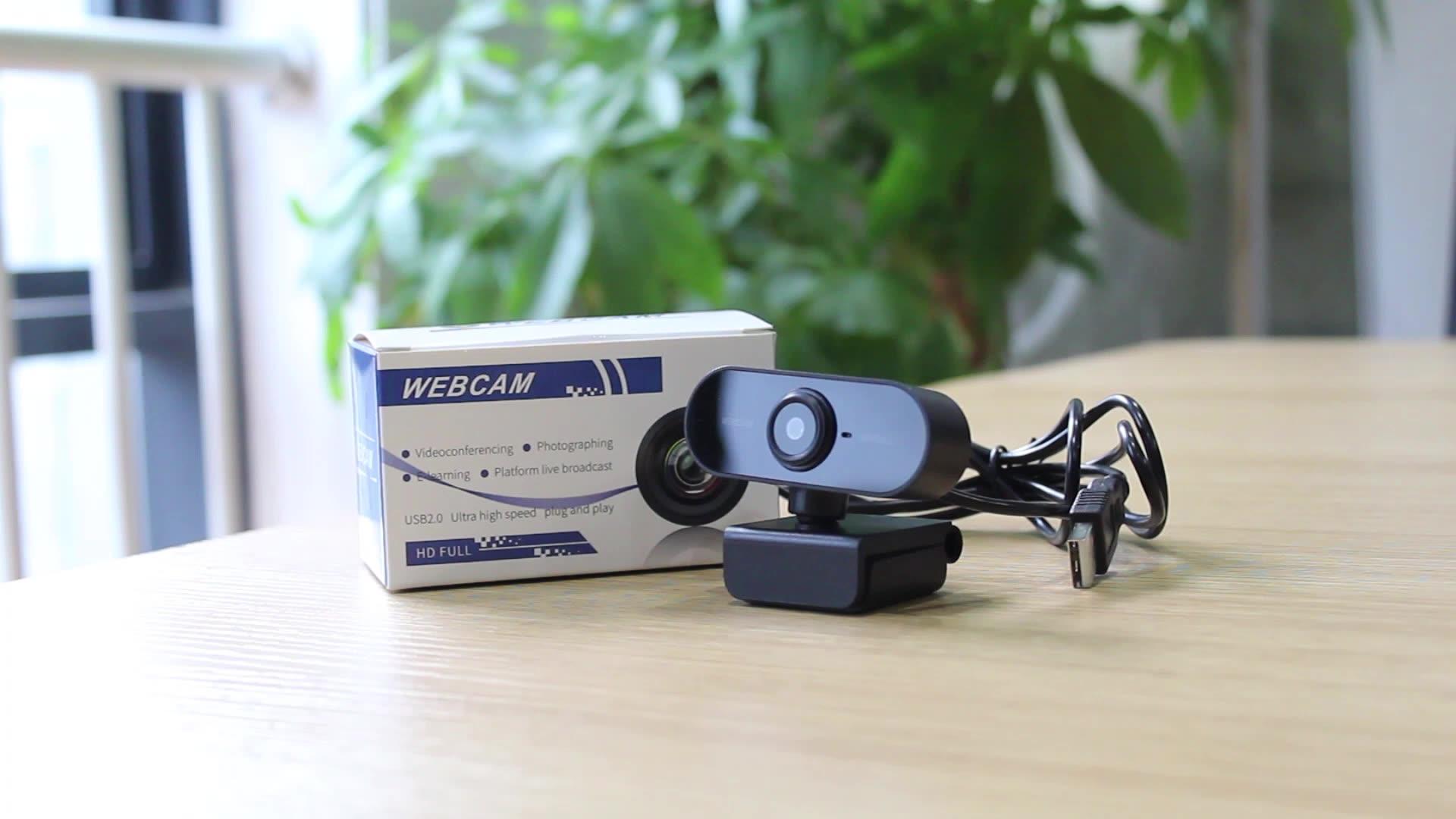 Универсальная веб-камера с бесплатным драйвером USB HD веб-камера 1080p веб-камеры для ПК ноутбука встроенный микрофон