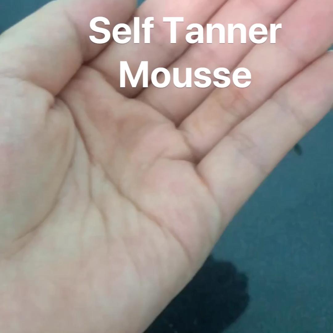 Kendinden Bronzlaşma Köpük Özel Etiket Foamming Self Tan