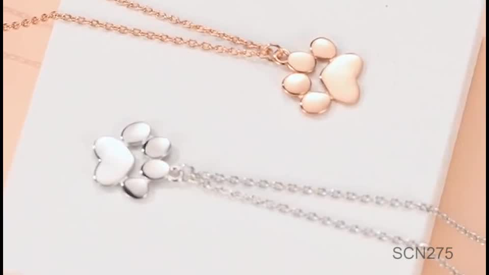 New Arrival High Quality 925 Sterling Silver Stylish Simplicity Pendant Necklace