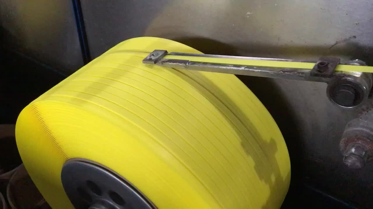 Custom belt White Polypropylene PP Band Strap for semi automatic machine