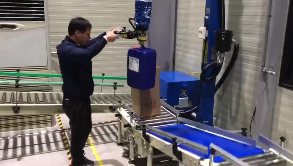 2019 Vacuum tube lifter for plastic pail  carton box made in china