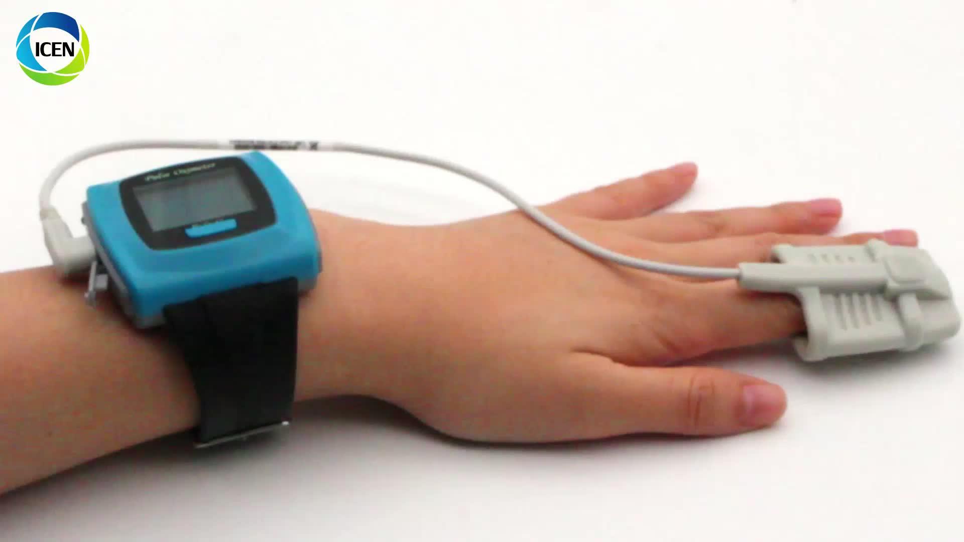 IN-C50F FDA Medical Portable Bluetooth Wifi OLED Display Smart Bracelet Watch Finger Pulse Oximeter