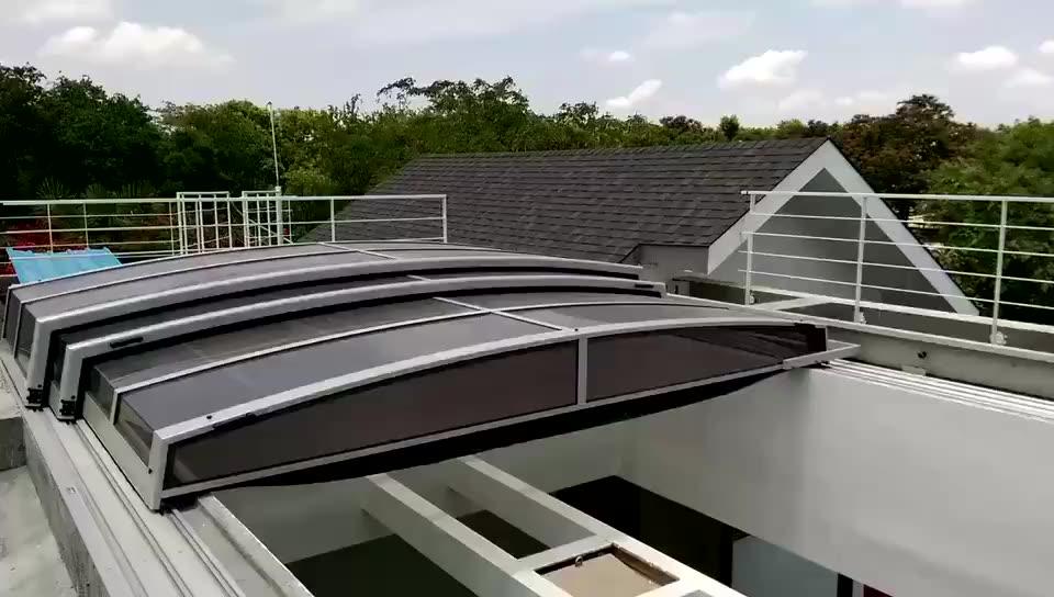 दूरबीन डिजाइन बिजली स्विमिंग पूल कवर