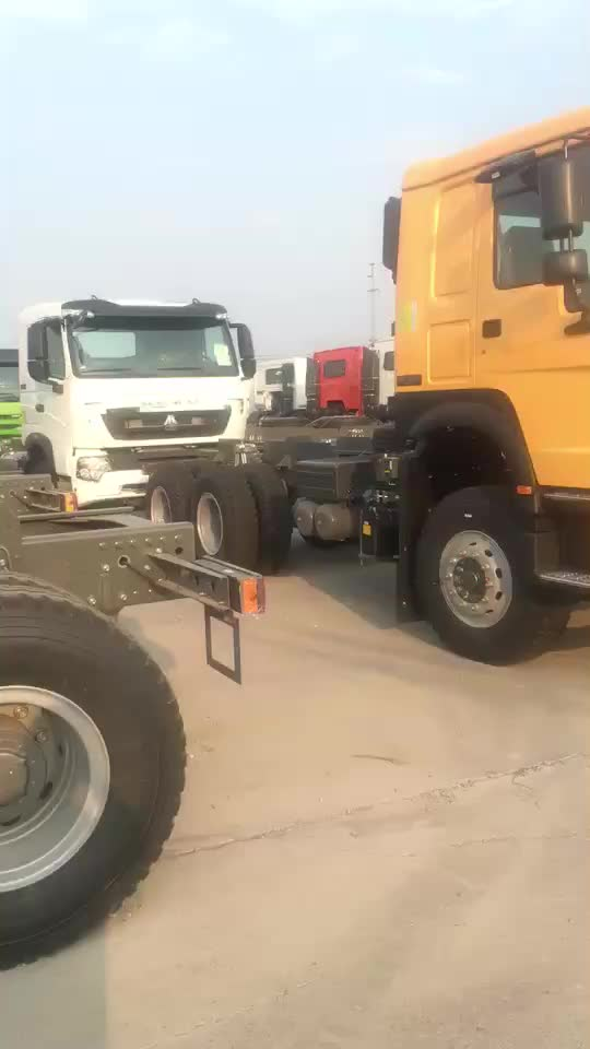 Chinese Sinotruk used Howo 4x2 420hp tractor truck low price for sale
